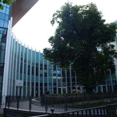 Zdjęcia Galerii Forum Gdańsk - fasada łukowa