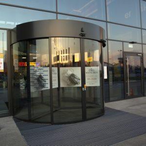 Zdjęcie Gemini Park -galeria handlowa w Tychach- drzwi karuzelowe