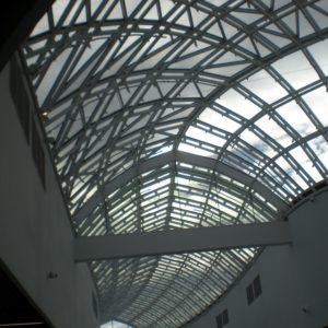 Zdjęcie Galerii Katowice - świetlik wstęgowy