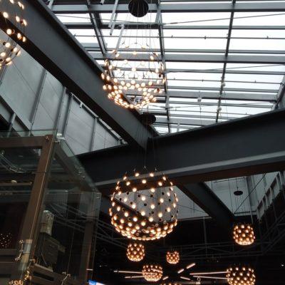 Zdjęcie świetlika w galerii handlowej Stara Ujeżdżalnia w Jarosławiu