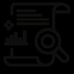 Ikona obrazujący bilans projektowy MBprojekt-fakty i liczby