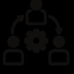 Ikona obrazująca model współpracy