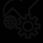 Ikona obrazująca narzędzia i technologie
